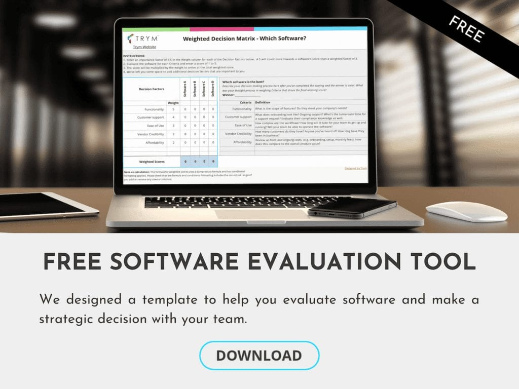 cannabis software evaluation tool