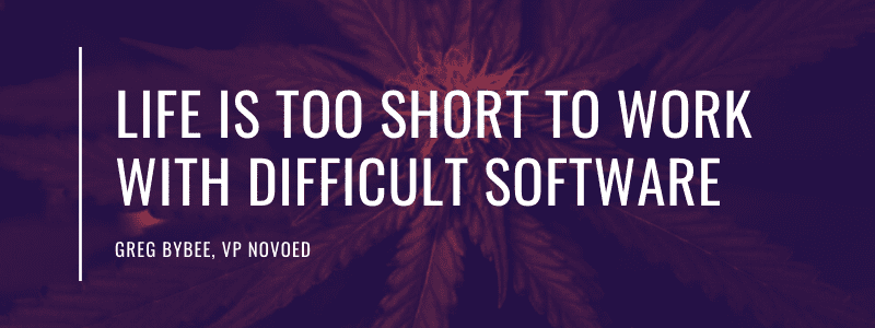 Life is too short to work with difficult software.
